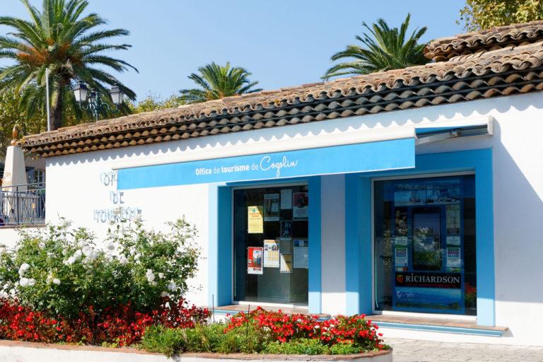 Store office de tourisme de Cogolin